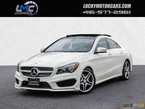 2015 Mercedes-Benz CLA-Class CLA250 4MATIC AMG PKG-PANORAMICROOF