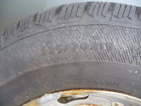 FOUR AVALANCHE EXTREME SNOW TIRES