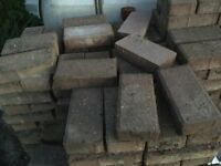 100's of paving blocks