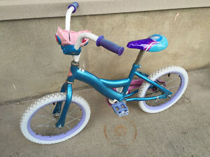 Starter bike with training wheels