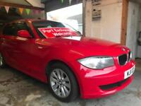 2011 BMW 116 2.0TD ( Dynamic pk ) ES Imola red immaculate condition