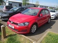 Volkswagen Golf 1.4 TSI ( 122ps ) ( s/s ) 2013MY SE Red MK7 FULL VW SERVICE