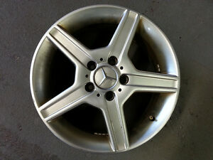 Mercedes alloy wheels 16x7J 5x112mm