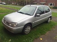 Citroen Saxo 1.1 Desire. Low mileage for age!! 12 months MOT!!