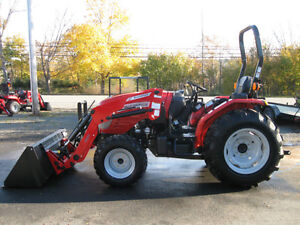 2016 McCormick 35hp Tractor and Loader - Heaviest On The Market!
