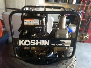 Koshin trash pump 1.5 inch  (was 700$-first come first served)