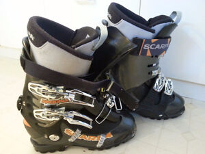 Scarpa alpine touring boots (approx size 9 men/size 10 women)