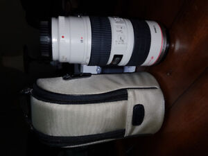 Canon lens 70-200mm 2.8 IS