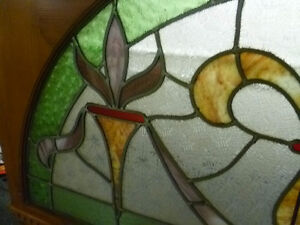 Antique Stained Glass Window Kitchener / Waterloo Kitchener Area image 4