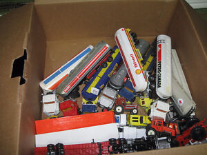 Die cast toy cars & transports