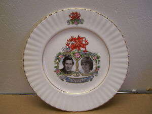 "Prince Charles Princess Diana Royal Wedding 10.25"" Plate - Queen"