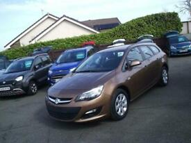 image for 2014 Vauxhall Astra 1.6i 16v Design Tourer 5 Door 6 Speed Automatic Estate Only
