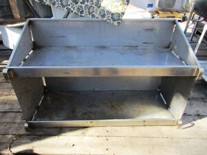 I USED Stainless Steel Shelf $150.00