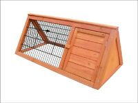 Triangular hutch/run for guinea pig/rabbit