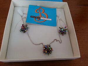 One of a Kind beautiful handcrafted necklace and earrings
