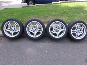 BMW M3 - OEM MAG WHEELS - STAGGERED - WITH PERFORMANCE TIRES