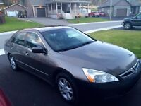 2007 Honda Accord EXL (Navigation and Leather)