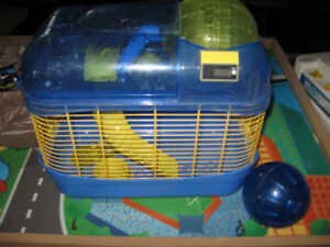 Hamster cage with Hamster ball