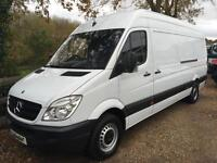 MERCEDES BENZ SPRINTER 313CDI LWB HI ROOF 63 REG