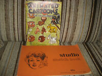 VINTAGE ANIMATED CARTOONS FOR THE BEGINNER - WALTER T. FOSTER