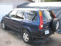 REDUCED-2004 HONDA CRV EX AWD-CERTIFIED & ETESTED