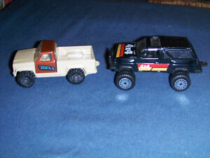 TONKA PICK UP & TOOTSIETOY 4 X 4-VINTAGE TOY CARS-COLLECTIBLE