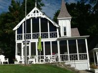 Charming Victorian Cottage on St. Lawrence River near Brockville