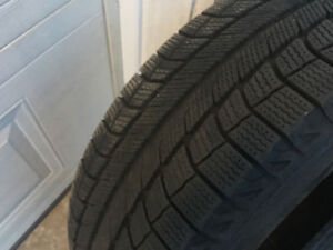 4 Michelin Latitude X Ice 225/65R17
