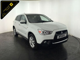 2011 MITSUBISHI ASX 3 CLEAR TEC DI-D 1 OWNER SERVICE HISTORY FINANCE PX WELCOME