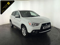 2011 MITSUBISHI ASX 3 CLEAR TEC DI-D 1 OWNER FROM NEW FINANCE PX WELCOME