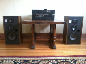 Stereo Amp, CD player and Speakers
