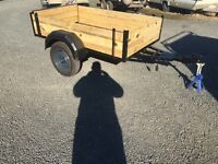 6x4 car trailer fully refurbished drop down tailgate lights