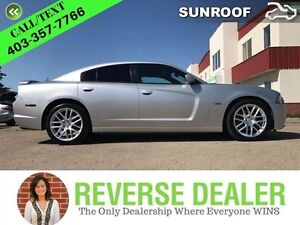 2012 Dodge Charger Big shiney head spinning wheels Leather Int