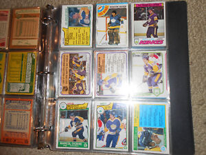 A binder of old hockey cards or sports cards London Ontario image 3