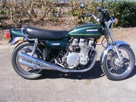 Kawasaki Z900 A4 1976 unrestored original classic fully commissioned rider ready
