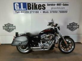 Harley-Davidson SUPERLOW XL 883 12 MONTHS WARRANTY