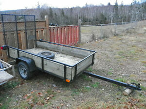 4x8 utility trailer for sale