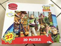 Disney toy story , Mickey, roary, and bob the builder puzzles