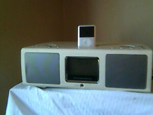 UPDATED AD -I POD ,DOCK Charge OR  Hi fi table Radio Alarm Clock