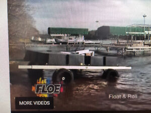 Floe float and roll