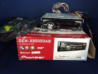 Car stereo Top of the range; pioneer DEH-X8500DAB
