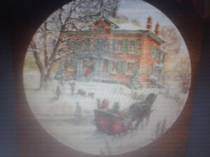 Victorian Christmas Collector Plates