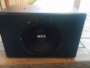 "10"" SUBWOOFER in a Non-Ported Box"