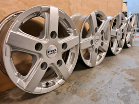 Fox racing alloy wheels for Ford transit 5x160