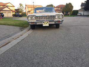 64 Chevy Biscayne 6 cyl. 230 engine