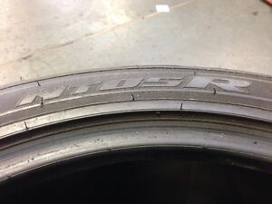 used pair 345/30R19 Nitto NT05R North Shore Greater Vancouver Area image 3