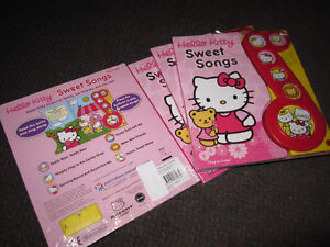 Hello Kitty Sweet Songs Play-a-Sound [Board book] - NEW - $5.00 Kitchener / Waterloo Kitchener Area image 3