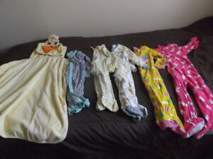 24 month sleepers and hooded bath towel