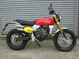 Fantic CABALLERO 125cc Scrambler/ Flat Tracker IN STOCK NOW !!!!