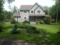 MONCTON Home for Sale with 2 Acres and 4 Bedrooms